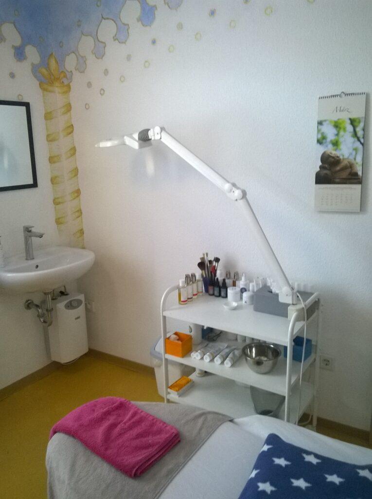 Der Schönheitstempel Kosmetikbehandlungsraum